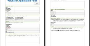 Medical Services Volunteer Application Form