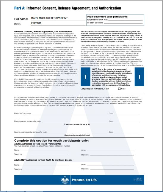 consent agreement authorization form