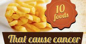 Top 10 cancer causing foods you should avoid