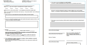 job leave medical form template